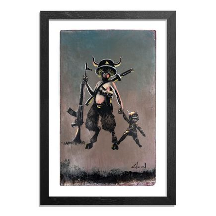 Ron Zakrin Original Art - Warriors - II