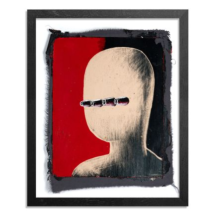Ron Zakrin Original Art - Portrait of an Automaton