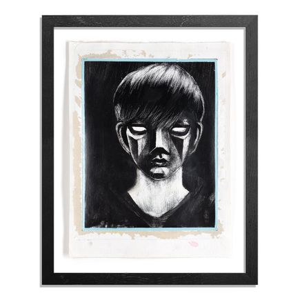 Ron Zakrin Original Art - Portrait of an Android - I