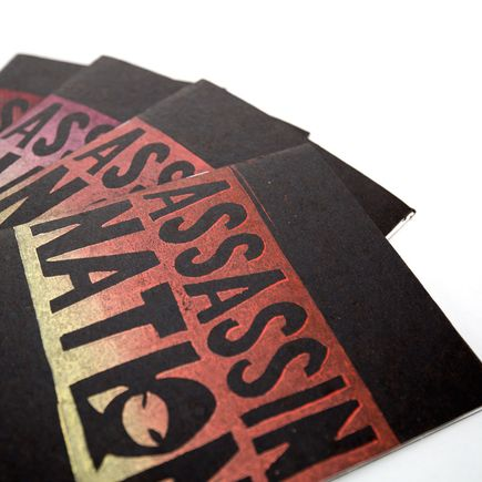 Ron Zakrin Book - Assassin Nation Zine