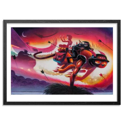 Ron Zakrin Art Print - Defiance In The Hour Of Darkness - Limited Edition Prints
