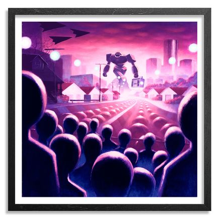 Ron Zakrin Art Print - The Visitor
