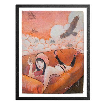 Ron Zakrin Original Art - Birds Of Prey - Original Artwork