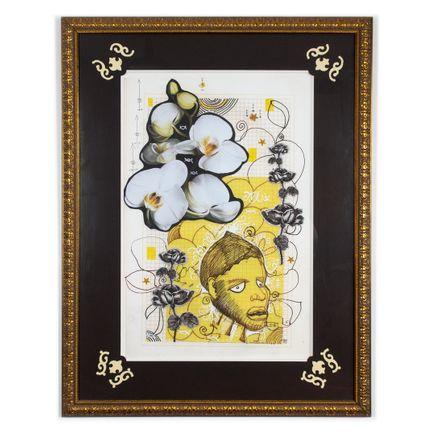 Sabrina Nelson Original Art - NKisi-n-Kondi Rose (Detroit Drive)