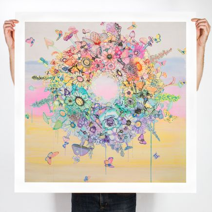 Sage Vaughn Art Print - Heaven's Gate - 36 x 36 Inch Edition