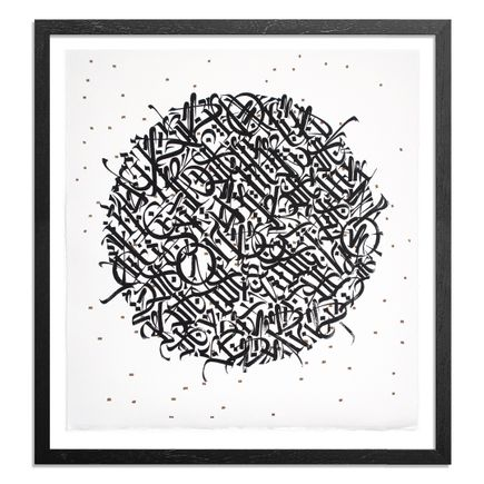 Said Dokins Art Print - Nocturno - Black on White Variant