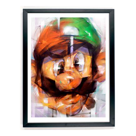 Samuel Rodriguez Art Print - Mario vs Luigi