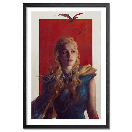 Sam Spratt Art - Daenerys - Framed