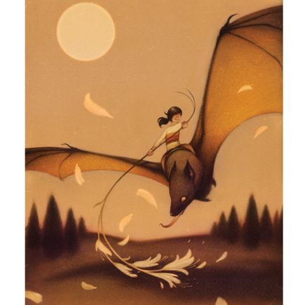 Sam Wolfe Connelly Art Print - Bat Rider