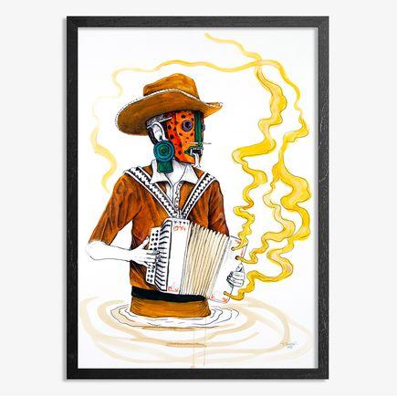 Saner Art - El Norteno Playing The Accordion - Mask Edition AP02