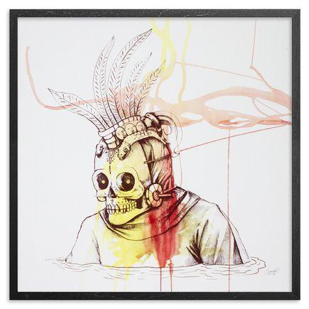 Saner Art - Warriors Emerge Of The Heaven Hand-Painted Multiple - 02