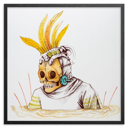 Saner Art - Warriors Emerge Of The Heaven Hand-Painted Multiple - 03