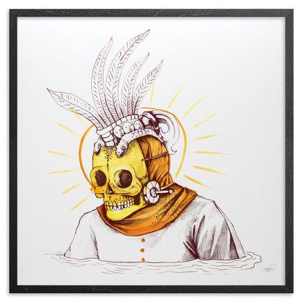 Saner Art - Warriors Emerge Of The Heaven Hand-Painted Multiple - 05
