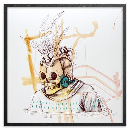 Saner Art - Warriors Emerge Of The Heaven Hand-Painted Multiple - 08