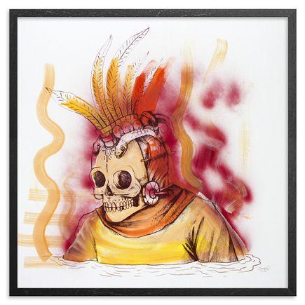 Saner Art - Warriors Emerge Of The Heaven Hand-Painted Multiple - 09