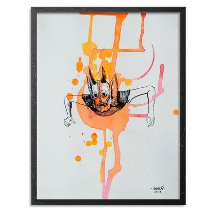 Saner Original Art - Taxidermy Of The Soul