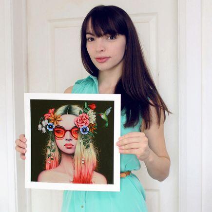 Sarah Joncas Art Print - Summer