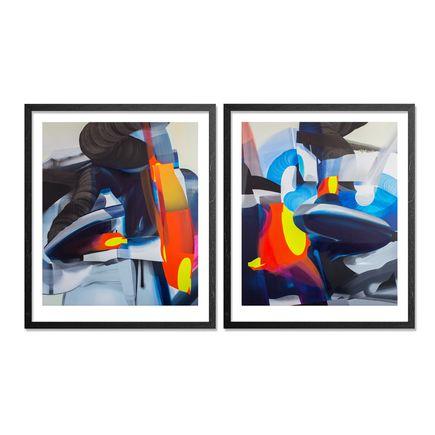 SatOne Art Print - Where I Found You - Two Print Set