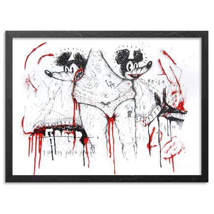 Satterugly Art Print - Kuando El Kuerpo Habla - Red