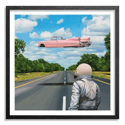 Scott Listfield Art Print - Pink Cadillac