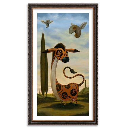 Scott Musgrove Art Print - Maori Equus