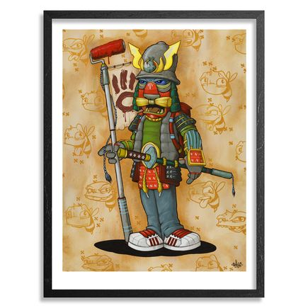 Scribe Art Print - Graffiti Samurai - Limited Edition Prints
