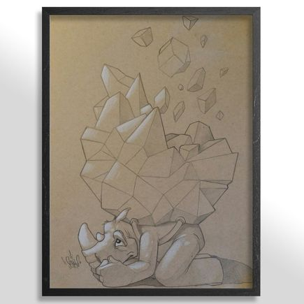 Scribe Original Art - Out Of The Abundance Of The Heart, The Mouth Speaks - Sketch 1