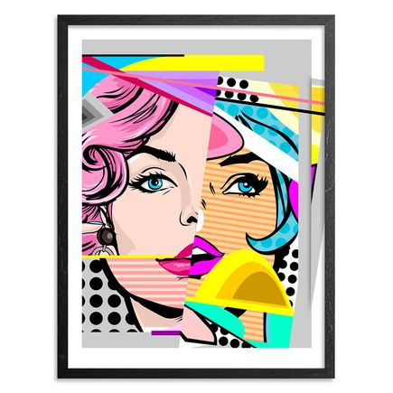 Sen2 Art Print - Mix Idropertia - Hand-Embellished Edition