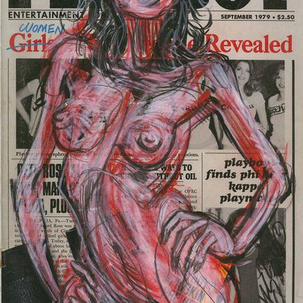 Derek Hess Original Art - Original Painting - September 1979