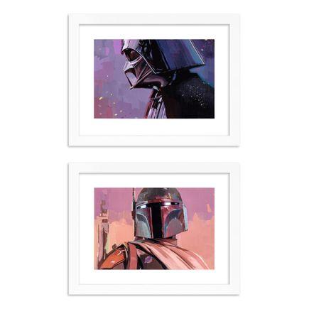 Alpay Efe Art Print - 2-Print Set - Vader + Fett