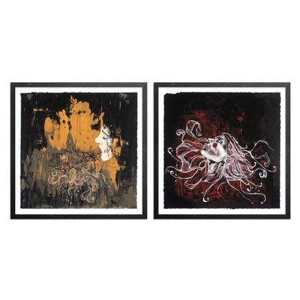 Brandon Boyd Art Print - 2-Print Set - Ectoplasm + The Plunge