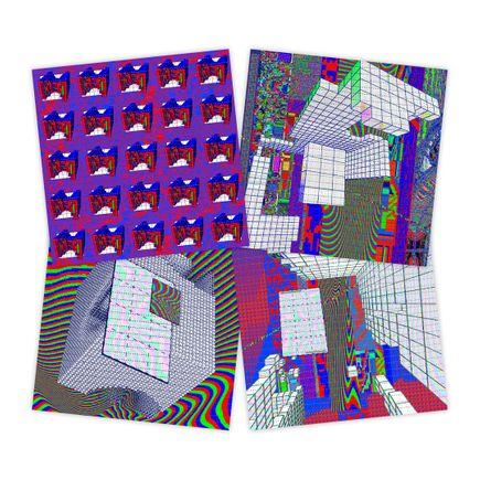J Demsky Art Print - 4-Print Set - Blotter Editions