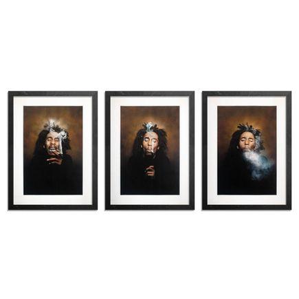 Dennis Morris Art Print - 3-Print Set - Burnin' I + II + III