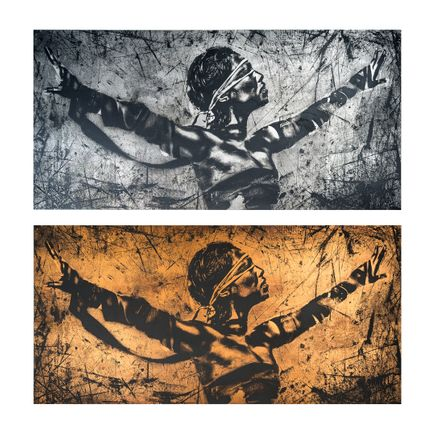 Eddie Colla Art Print - 2-Print Set - Faith - Steel + Copper Editions