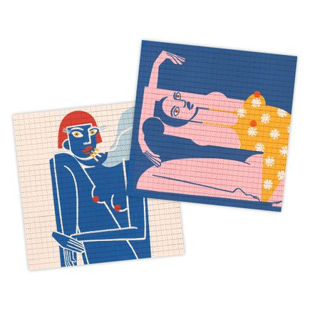 Jillian Evelyn Art Print - 2-Print Set - Blotter Editions