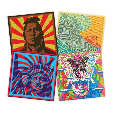 John Van Hamersveld Art Print - 4-Print Set - Blotter Editions