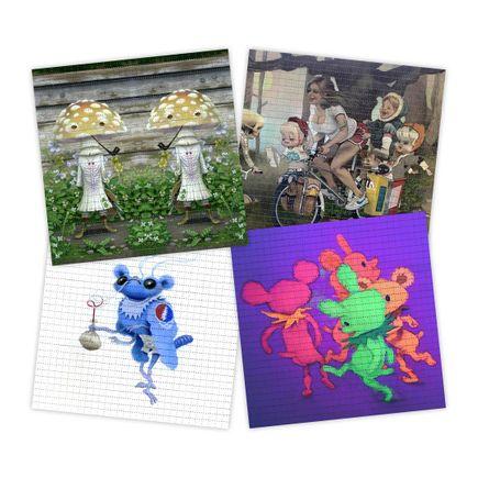 Matt Gordon Art Print - 4-Print Set - Blotter Editions