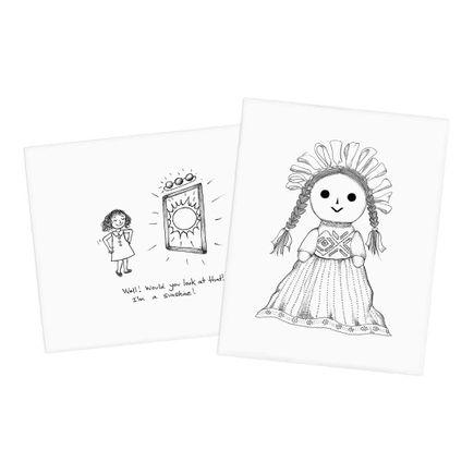 Melissa Villaseñor Art Print - 2-Print Set - Sunshine + Doll