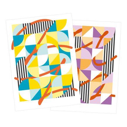 My Name Is Not SEM Art Print - 2-Print Set - Soundscapes