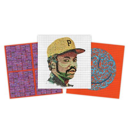 Pat Riot Art Print - 3-Print Set - Blotter Editions