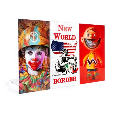 Ron English Art Print - 3-Wall Set - Welcome Walls - Volume 1