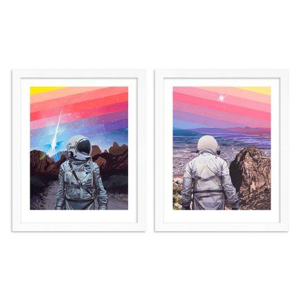 Scott Listfield Art Print - 2-Print Set - Rainbow One + Rainbow Two