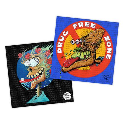Stanley Mouse Art Print - 2-Print Set - Blotter Editions