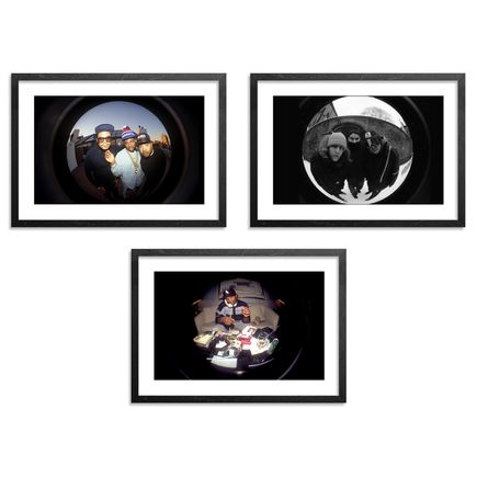 Ricky Powell Art Print - Set I - 3-Print Set - Centrifugal Champipple Bubble Editions -