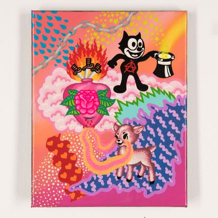 Shaina Kasztelan Original Art - If I Knew Magic I Would Make You Disappear