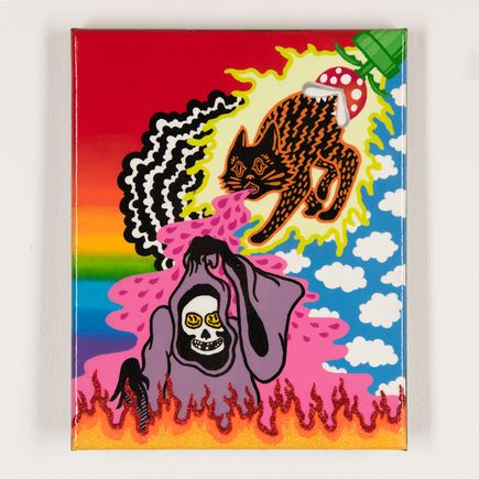 Shaina Kasztelan Original Art - Regurgitate