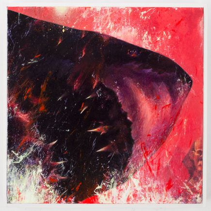 Shark Toof Original Art - Fire In Cairo