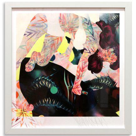 Shark Toof Art Print - Hand-Embellished Edition - Shark & Three Girls Show