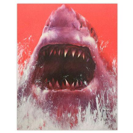 Shark Toof Original Art - Nature Is Your Home
