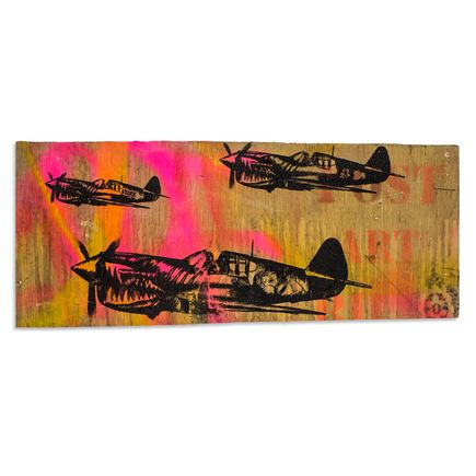 Shark Toof Original Art - Post Art Bills - Original Painting